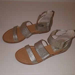 Silver/Gold Sandals